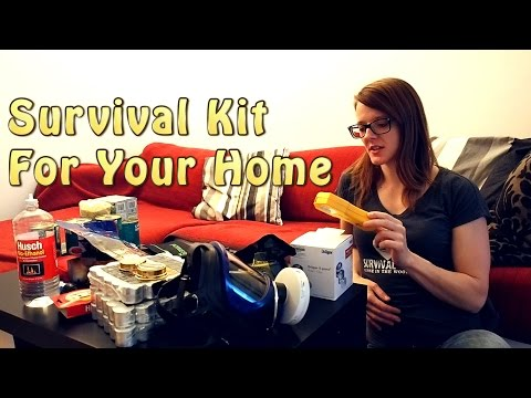 Survival Kit For Your Home