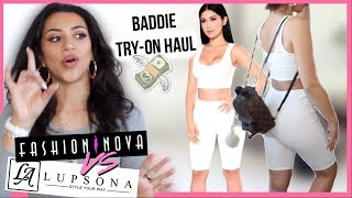 ➳ TRY-ON HAUL | FashionNova VS Lupsona ( quel est le meilleur ? )