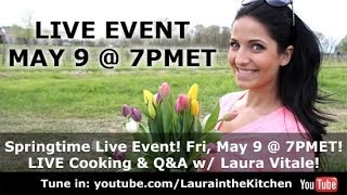 Springtime (was) LIVE Cooking & Q&A Event! thumbnail