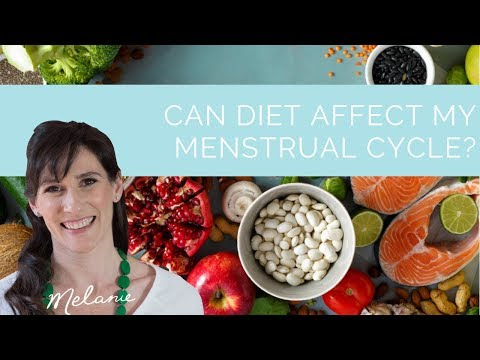 Can diet affect my menstrual cycle? | Nourish with Melanie #100