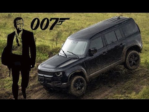 """2020 Land Rover Defender in New Bond Film """"No Time To Die ..."""