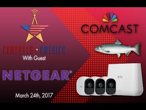 NETGEAR Arlo Interview, Salmon Blasting Laser Cleaners, New FCC Rules, And Comcast Streams
