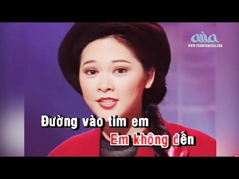KARAOKE | Người Tình Mùa Đông | Lời Việt: Anh Bằng | Trung Tâm Asia