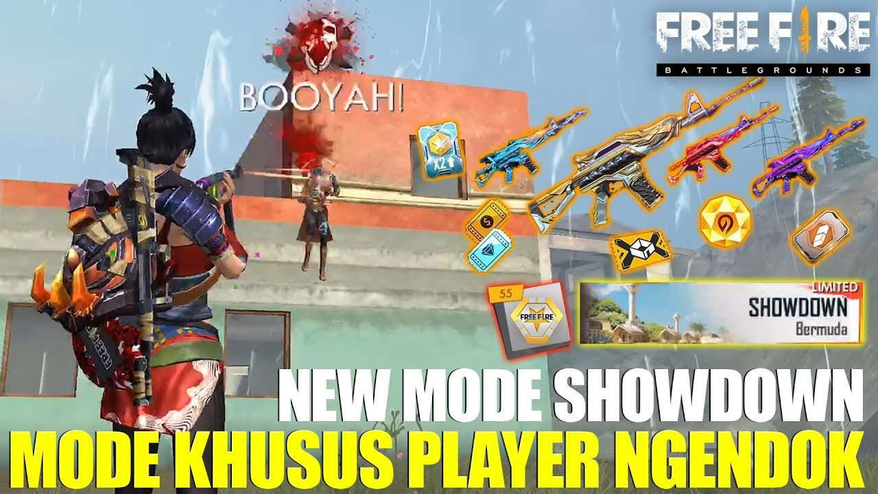 New Mode Showdown Mode Wajib Booyah Buat Dapatin Skin M4a1