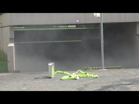 PKW-Brand In Tiefgarage Nach Brandstiftung In Bonn-Tannenbusch Am 23.05.19
