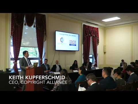 Copyright Alliance Piracy Panel on the Hill - Video 1