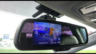 """Недорогое Зеркало заднего вида с Авто затемнением и экраном 4,3"""" (800х480 Pixels)"""