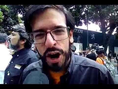 """M. Pizarro: """"Violencia no nos sacará de las calles"""". Bello Campo, marcha Vamos Al TSJ"""