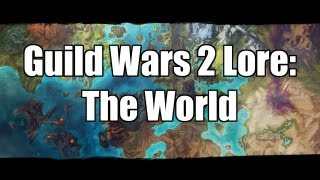 One of WoodenPotatoes's most viewed videos: Guild Wars 2 Lore: The World
