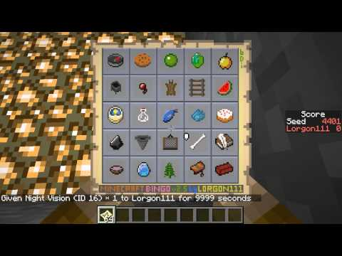 Minecraft BINGO v2.5 weekly seed challenges! (posted 2015-05-22)