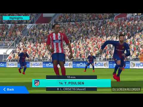 Atletico Madrid 2-0  Barcelona full match match 2018 from real team