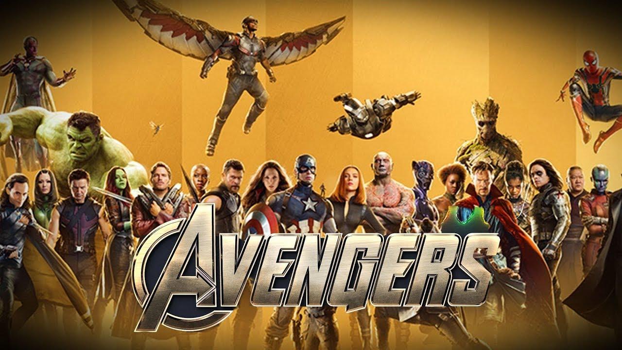 Marvel Movie Posters: Avengers 4 NEW MARVEL STUDIOS Full Team Art 10th