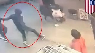 New York City shooting: teen shot in the head outside restaurant in downtown Brooklyn - TomoNews