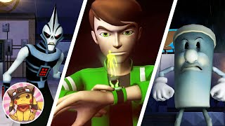 BEN 10 Alien Force Vilgax Attacks - Part 1 - Bellwood - Movie Game Walkthrough (2009) [1080p]