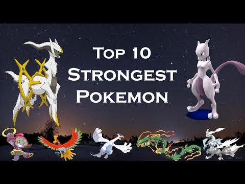 Top 10 strongest pokemon ★10 strongest legendary pokemon