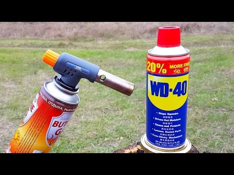 Thumbnail: WD 40 VS GAS TORCH