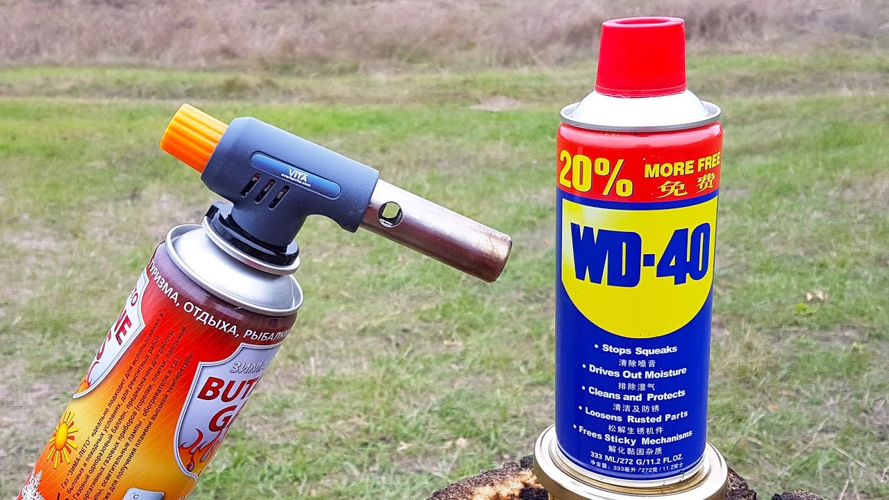 wd 40 vs gas torch youtube. Black Bedroom Furniture Sets. Home Design Ideas