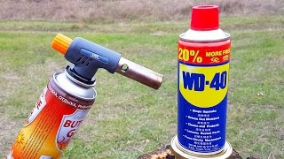 WD 40 VS GAS TORCH
