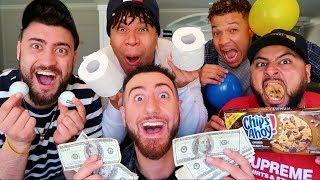 INSANE MINUTE TO WIN IT CHALLENGE! *Winner Gets $10000*