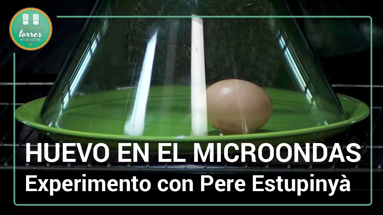 Huevo en el microondas qu pasa al meterlo pere for Torres en la cocina youtube