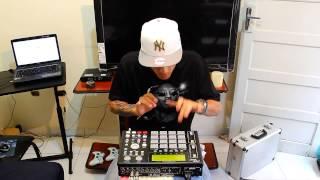 "DJ Rafinha MPC - Montagem International Funk "" Akai MPC 1000 """