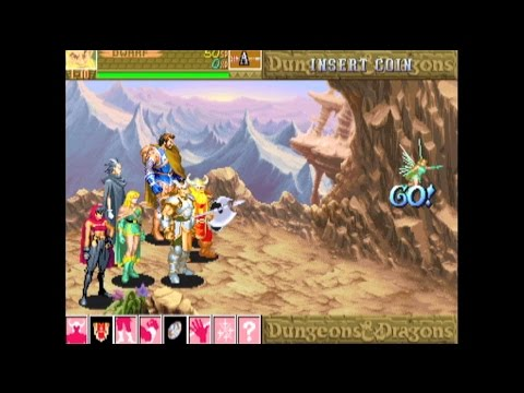 Dungeons & Dragons: Shadow over Mystara (Arcade Game) Review by Mike Matei