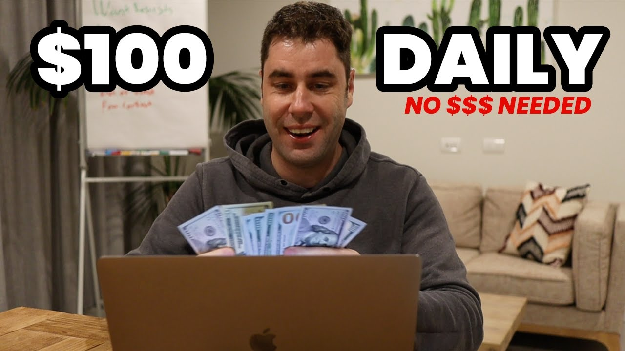 Best FREE Way To Make Money Online For Beginners With NO Website! ($100/Day)