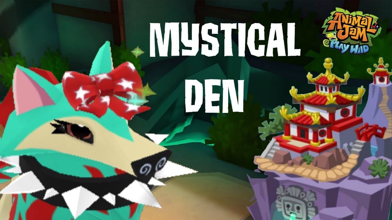 Look at this MYSTICAL HUGE Den Update! | Animal Jam Play ...