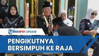 Penampakan Sang Baginda Raja Angling Dharma di Banten, Duduk di Kursi Emas dan Pengikutnya Bersimpuh