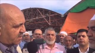 CNN Arabic - بالفيديو.. رائد صلاح مودعا قبل بدء سجنه: مرحبا بالسجون.. بالروح والدم نفديك يا أقصى