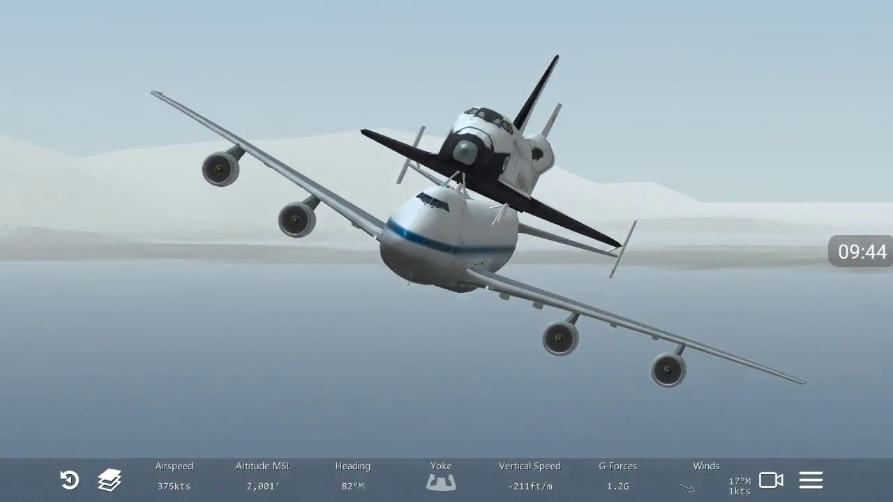 how to play space flight simulator