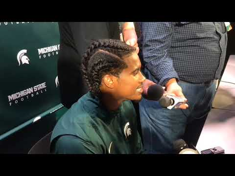 Michigan State CB Tyson Smith talks about return from stroke