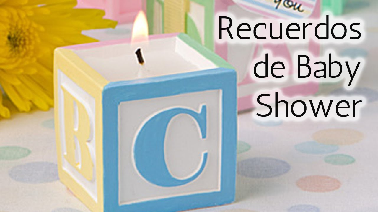 40 ideas recuerdos para baby shower hd youtube