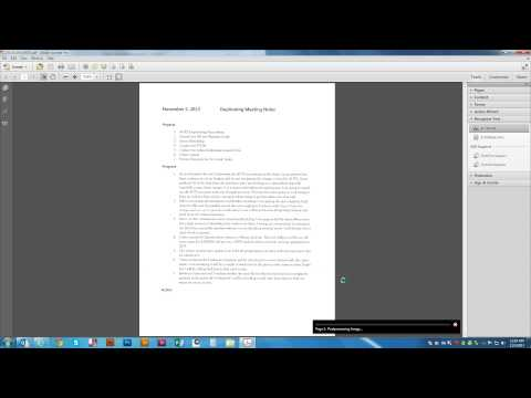 Using Adobe Acrobat To OCR A Scanned Document