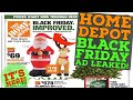 Home Depot Black Friday 2020 LEAKED!