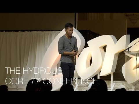 Sly Lee-The Hydrous- Core 77 Designing Here and Now Conference 2015