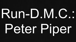 Peter Piper lyrics