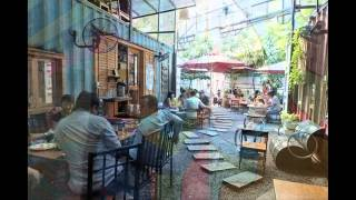 Container Cafe, những quán container cafe độc và lạ