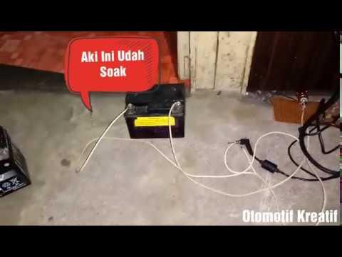 Ngecas Aki Pakai Charger Laptop Asus 100 Work