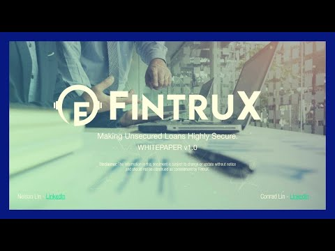 Blockchain Technology Is Changing The World Of Finance! - P2P Lending With Fintrux