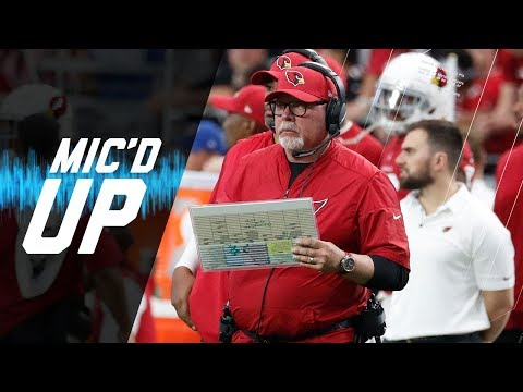 """Bruce Arians Mic'd Up vs. 49ers """" HOW DO YOU REVERSE THAT!"""" (Week 4) 