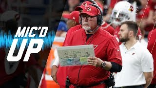 "Bruce Arians Mic'd Up vs. 49ers "" HOW DO YOU REVERSE THAT!"" (Week 4) 