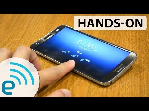 Samsung Galaxy Round hands-on | Engadget