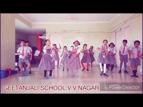 EE JANDA PATRIOTIC SONG . DANCE BY GEETANJALI school students v.v nagar practice video