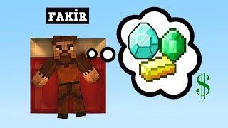 ZENGİN VS FAKİR #95 - Fakir Rüya Görüyor (Minecraft)