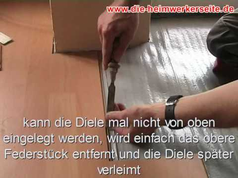 laminat verlegen teil 2 youtube. Black Bedroom Furniture Sets. Home Design Ideas