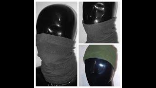 Бафф, шапка шарф, маска, универсальная. Все способы использования http://okeymag.com