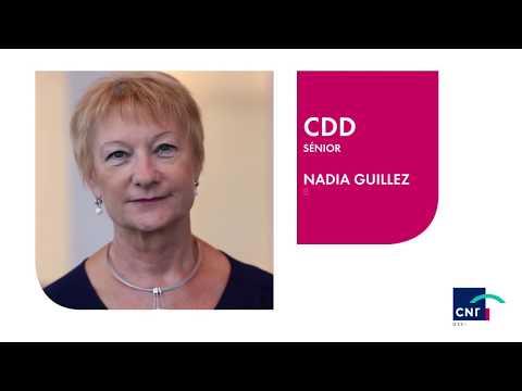 Nadia Guillez, CDD Sénior chez CNP Assurances