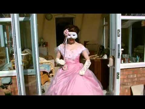 5b8e452f579a Christine Daae Pink Movie Masquerade dress - YouTube