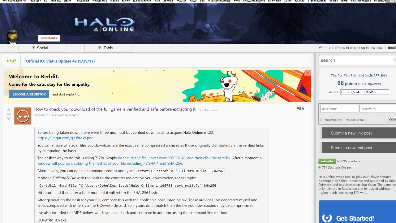 Halo Online Download (link works after being taken down) - YouTube